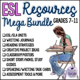 The ESL Teacher's MEGA Bundle for The Entire School Year