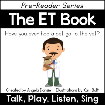 The ET Book and Games (Word Family Pre-Reader Series)