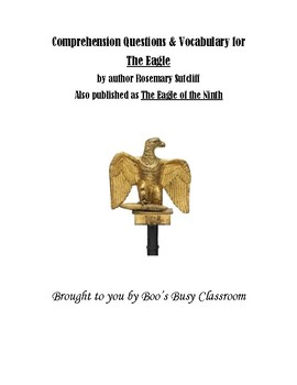 The Eagle of the Ninth Comprehension Questions and Vocabulary