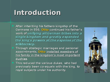 The Early Middle Ages - Key Figures - Otto the Great