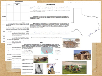 The Early People of Texas Power Point and Activities