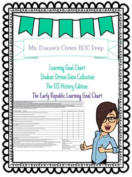 The Early Republic Learning Goal Chart