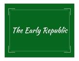 Early Republic Word Wall