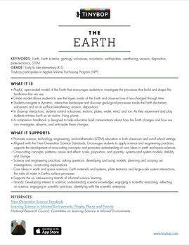 The Earth App & Educator Guide Bundle