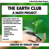 The Earth Club: A Math Project | Earth Day Math Project |