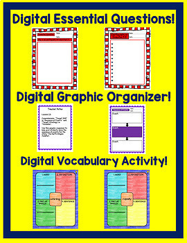 The Earth Dragon Awakes Journeys 4th Grade Unit 3 Google Digital Resource