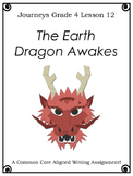 The Earth Dragon Awakes--Writing Prompt-Journeys Grade 4-Lesson 12