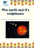 The Earth & Its Neighours-Interesting printables with fun activities, worksheets