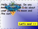 Earth, Moon, and Sun