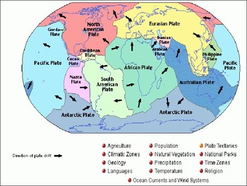 The Earth Power Point (Plate Tectonics Boundaries)