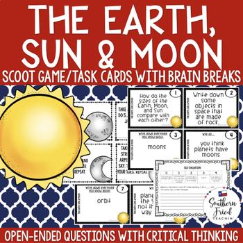 The Earth, Sun, & Moon