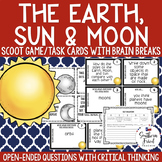 The Earth, Sun, & Moon Scoot Game/Task Cards