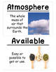 The Earth System Vocabulary Cards (Large)