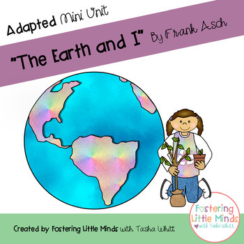 """""""The Earth and I"""" written by Frank Asch Mini Unit"""