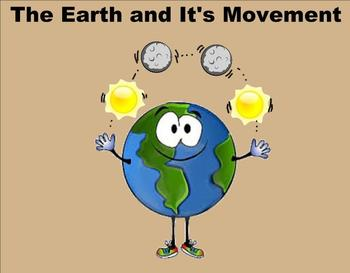The Earth and it's Movement - A Third Grade SmartBoard Int