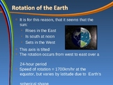 The Earth in Space: Rotation and Revolution