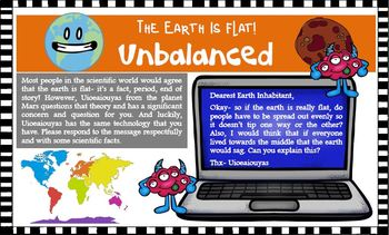 The Earth is Flat Critical Thinking Task Cards