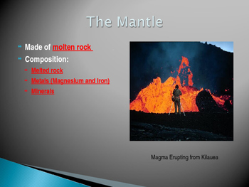 The Earth's Basics (Intro to models) Power Point Presentation