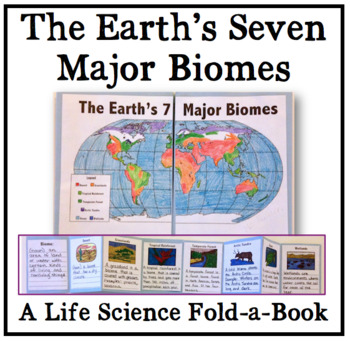 The Earth's Biomes - Life Science Fold-a-Book