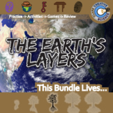 The Earth's Layers -- Earth Science Curriculum Unit Bundle