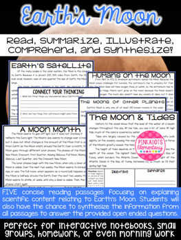 The Earth's Moon: Satellites, Tides, Moon Months, Humans o