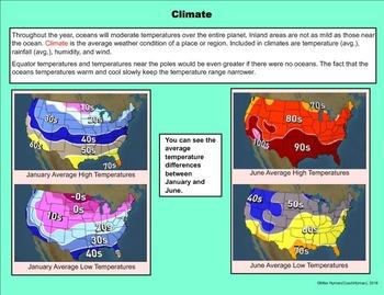 The Earth's Weather - A Fifth Grade SMARTBoard Bundle