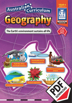 The Earth's environment sustains all life – Australian Curriculum Geography – Ye