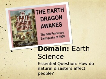 The Earthquake Dragon Awakes ~ Journeys Vocabulary Lesson 12