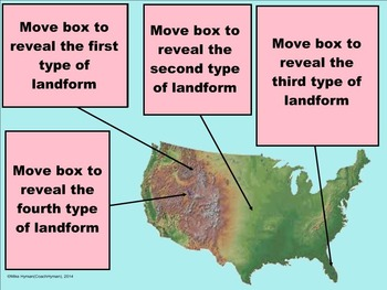 The Earth's Landforms – A Fourth Grade SMARTBoard Introduction