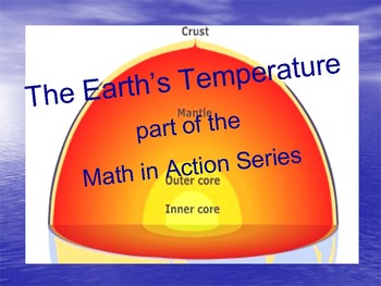 The Earth's Temperature: part of the Math in Action Series