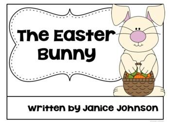 The Easter Bunny Emergent Reader Book + timeline {Young Readers, ESL, EFL}