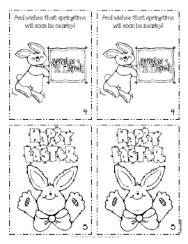 The Easter Bunny Mini-book - Freebie for March