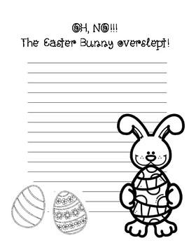 The Easter Bunny Overslept ~ Creative Writing