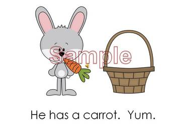 The Easter Bunny Simple Reader Power Point
