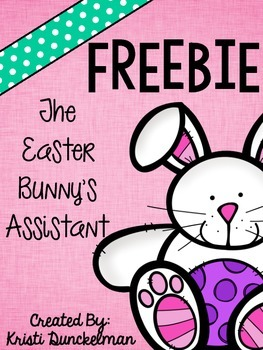 The Easter Bunny's Assistant Freebie