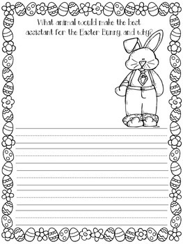 The Easter Bunny's Assistant Writing Prompt