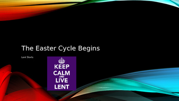 The Easter Cycle Begins