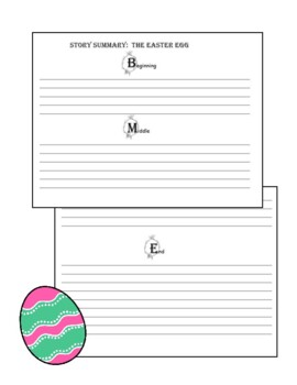 Jan Brett  The Easter Egg: Comprehension and Writing Pack Gr. 1 and 2