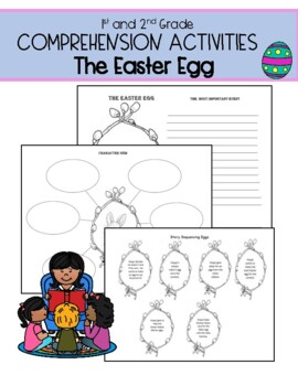 Jan Brett  The Easter Egg: Comprehension and Writing Pack
