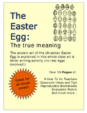 The Easter Egg: The true meaning An Art & Letter Writing A