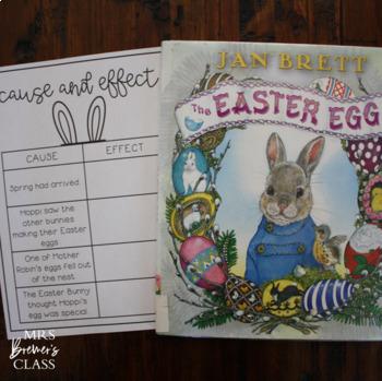 The Easter Egg {a Jan Brett book study}