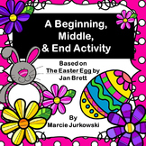 A Beginning, Middle, and End Activity Based on The Easter Egg by Jan Brett