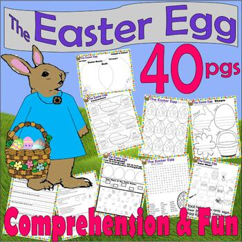The Easter Egg by Jan Brett :  Comprehension & Activity Pa