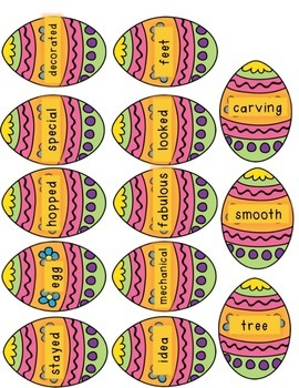 The Easter Egg by Jan Brett- Grammar and Reading Response Activities
