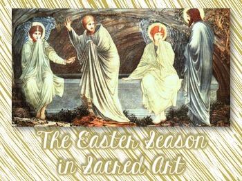 The Easter Season in Sacred Art  Freebie