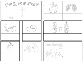 The Easter Story 8 Step Sequencing