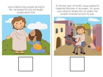 The Easter Story - An Interactive Vocabulary Book