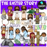 The Easter Story Clip Art Bundle {Educlips Clipart}