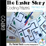 The Easter Story Coding Mazes| Perfect for Ozobots