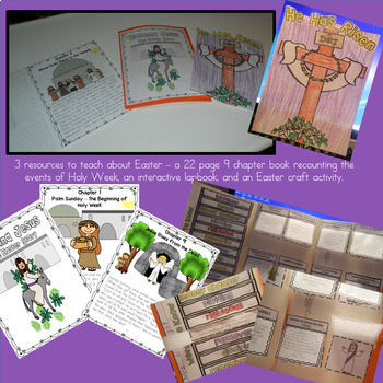 Easter and Holy Week for Little Learners Catholic Christian Religion Lesson